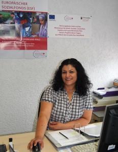 Leyla Cetintas, bei der Handwerkskammer der Pfalz zuständig für 'Handwerk integriert Migranten'.