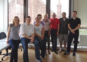 Das Team der DAA am neuen Standort in Ludwigshafen.