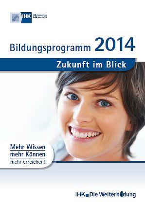 IHK-Bildungszentrum Karlsruhe - Bildungsprogramm 2014