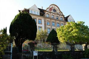 1908 wurde das repräsentative Gebäude der Fachschule Sancta Maria eingeweiht