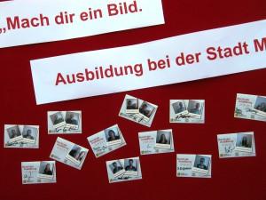"""""""Mach dir ein Bild"""" – Aufforderung zur Nacht der Ausbildung bei der Stadt Mannheim."""