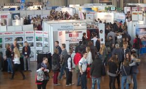 Sie wächst und wächst – letztes Jahr erst in die Schwarzwald- und Gartenhalle umgezogen (Bild), findet die diesjährige Messe Einstieg Beruf am 24. Januar erstmals in der dm-Arena Karlsruhe statt.
