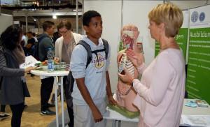 Vorab terminierte Gespräche, hier bei der Akademie für Gesundheitsberufe Heidelberg, sind eine Besonderheit des Konzepts.