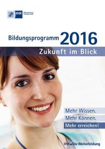 Das Fort- und Weiterbildungsprogramm des IHK-Bildungszentrums Karlsruhe umfasst über 150 Seminare und Lehrgänge. Foto: Falk