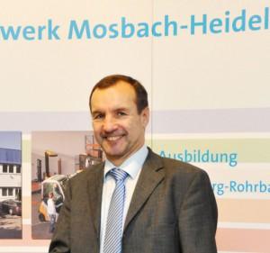 Manfred Weiser ist neuer Leiter des BBW Mosbach-Heidelberg. Foto: BBW