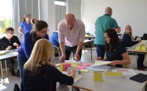 Projektarbeit im ausbildungsintegrierten dualen Studiengang Logistik an der Hochschule Ludwigshafen.
