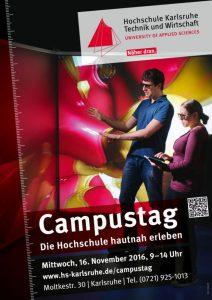 Campustag an der Hochschule Karlsruhe – Technik und Wirtschaft