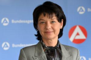 Heidrun Schulz, die Vorsitzende der Regionaldirektion Rheinland-Pfalz Saarland der Bundesagentur für Arbeit. Diese koordiniert auch die agenturübergreifenden Aktivitäten in der Metropolregion Rhein-Neckar.