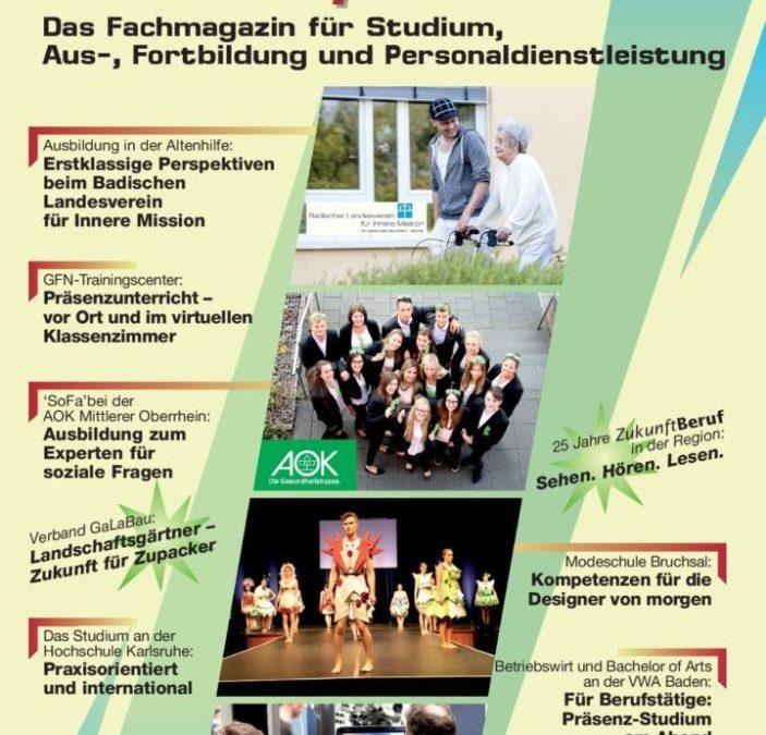 ZukunftBeruf: 25. Ausgabe in der TechnologieRegion Karlsruhe erschienen