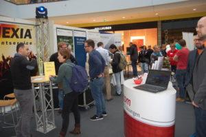 Von Pflege bis IT: die Ausbildungsbörse in der Rhein-Galerie Ludwigshafen.