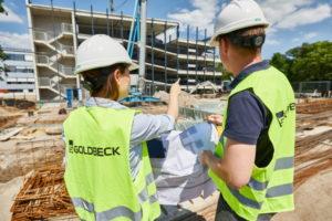 Bauen mit System: das Familienunternehmen GOLDBECK.