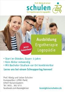 Prof. König und Leiser Schulen: Ergotherapie- und Logopädie-Ausbildung nah am Menschen