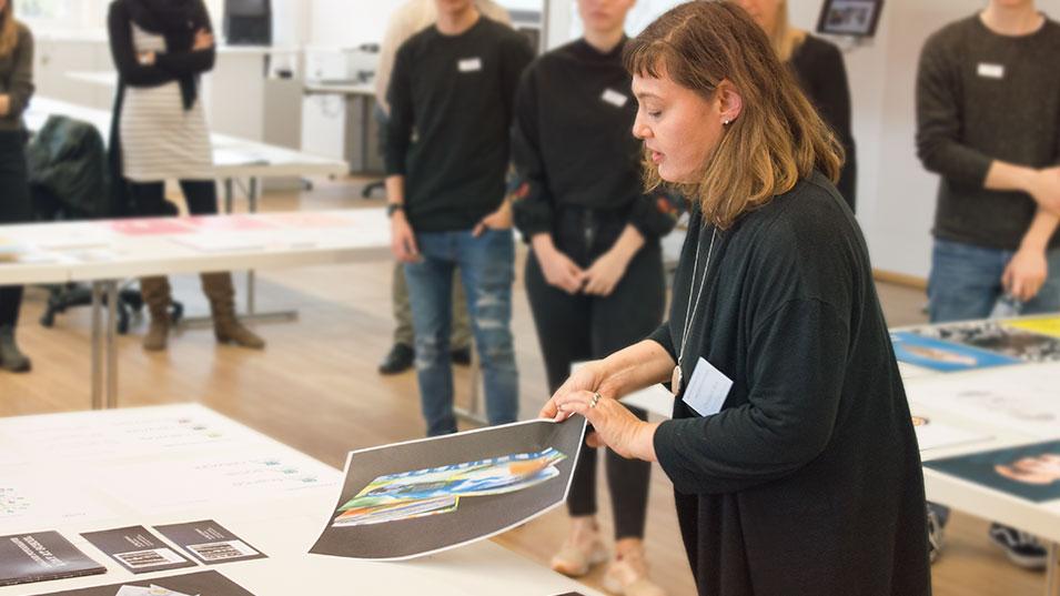 Modeschule und Grafikdesignschule Manuel Fritz: Infotage für kreative Köpfe