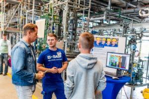 Blick hinter die Kulissen: der BASF-Infotag Ausbildung.