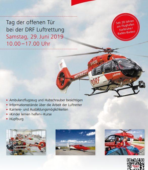 DRF Luftrettung: Tag der offenen Tür am Flughafen Karlsruhe/Baden-Baden